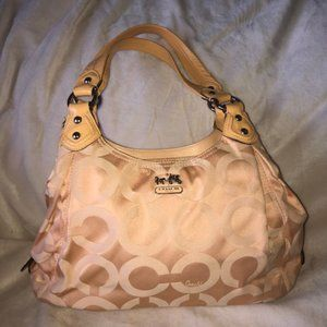 Coach Madison Hobo Style Bag 14035